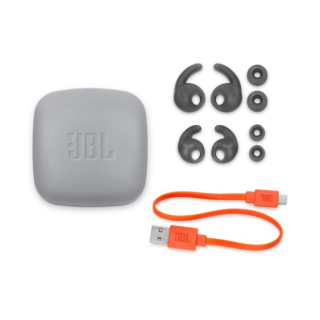 JBL Reflect Contour 2 - Blue - Secure fit Wireless Sport Headphones - Detailshot 3