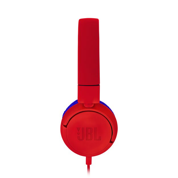 JBL JR300 - Spider Red - Kids on-ear Headphones - Detailshot 1