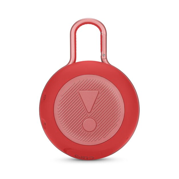 JBL CLIP 3 - Fiesta Red - Portable Bluetooth® speaker - Back