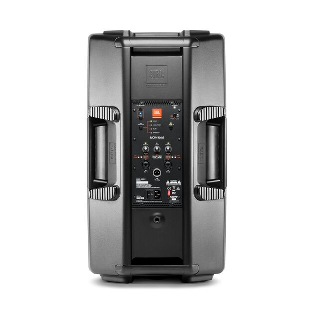"JBL EON612 - Black - 12"" (30.48 cm) Two-Way Multipurpose Self-Powered Sound Reinforcement - Back"