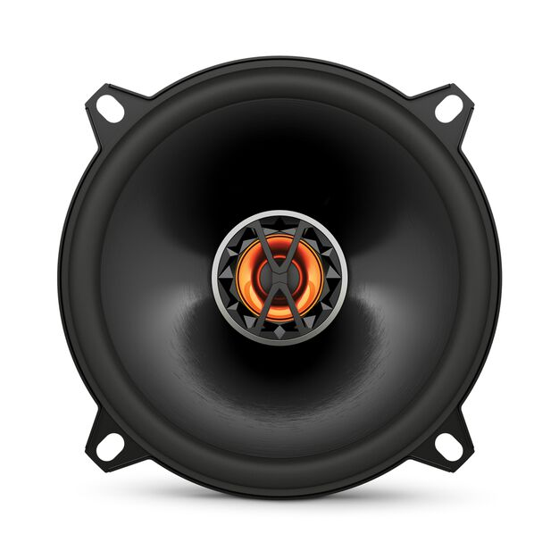 "Club 5020 - Black - 5-1/4"" (130mm) coaxial car speaker - Front"