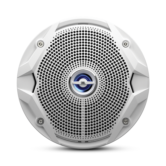 """MS 6520 - White - 6"""" Coaxial, 180W Marine Speaker - Front"""