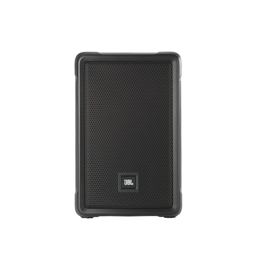 "JBL IRX108BT (220V) - Black - Powered 8"" Portable Speaker with Bluetooth® - Front"