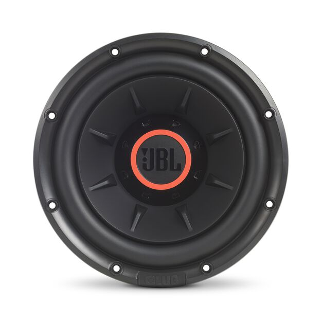 "Club 1024 - Black - 10"" (250mm) and 12"" (300mm) car audio subwoofers - Front"