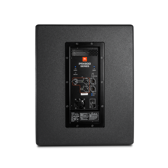 """JBL PRX815XLF - Black - 15"""" Self-Powered Extended Low Frequency Subwoofer System with Wi-Fi - Back"""