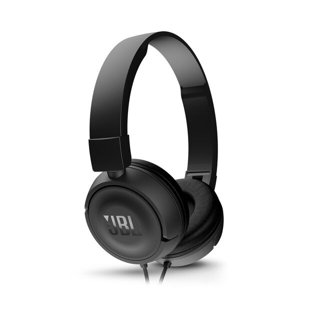 JBL T450 - Black - On-ear headphones - Detailshot 2