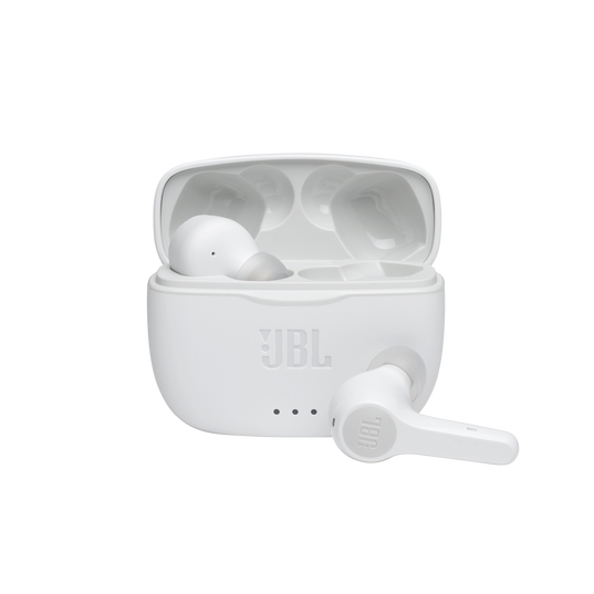 JBL Tune 215TWS - White - True wireless earbuds - Hero