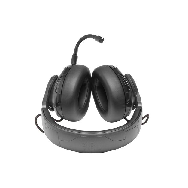 JBL Quantum ONE - Black - USB wired over-ear professional gaming headset with head-tracking enhanced JBL QuantumSPHERE 360 - Detailshot 2