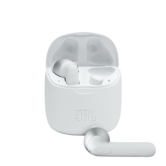JBL Tune 225TWS - White - True wireless earbuds - Hero