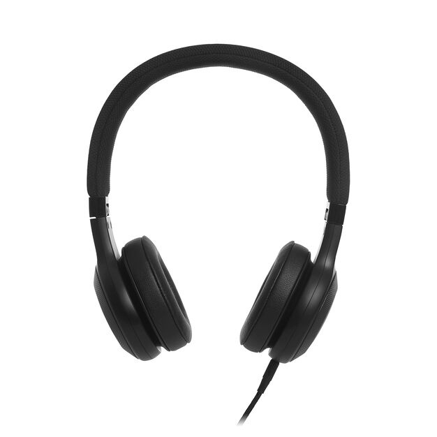 E35 - Black - On-ear headphones - Detailshot 2