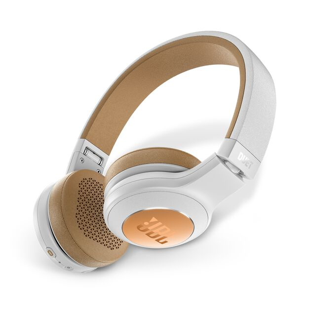 JBL Duet BT - Silver - Wireless on-ear headphones - Detailshot 1
