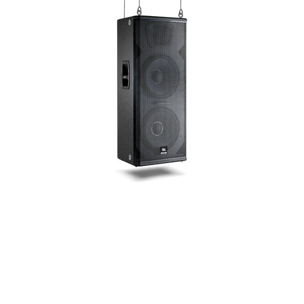 "JBL MRX625 - Black - Dual 15"" High-Power, Two-Way Speaker - Hero"