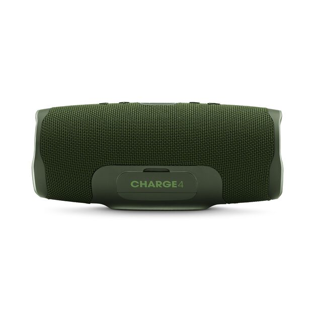 JBL Charge 4 - Forest Green - Portable Bluetooth speaker - Back