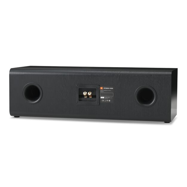 "Studio 235C - Black - Dual 2.5-way 6.5"" Center Channel Loudspeaker - Back"