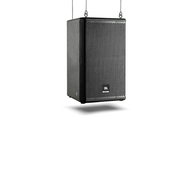 "JBL MRX612M - Black - 12"" Two-Way Stage  Utility/ Monitor Speaker - Hero"