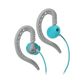 JBL Focus 100 Women - Teal - Behind-the-ear, sport headphones with Twistlock™ Technology specifically made for women. - Hero
