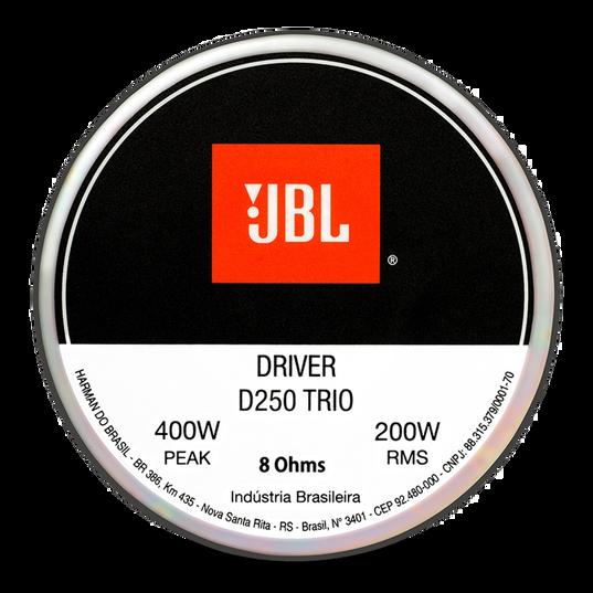 Driver D250 Trio - Silver - Front