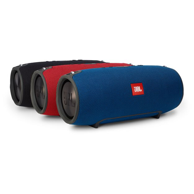 JBL Xtreme - Blue - Splashproof portable speaker with ultra-powerful performance - Detailshot 5