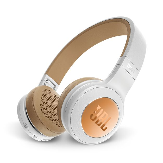 JBL Duet BT - Silver - Wireless on-ear headphones - Hero